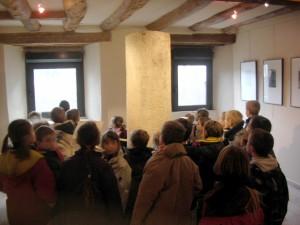 Atelier d'observation sur les inscriptions du musée