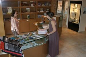 La boutique au musée de Javols