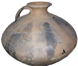 Vase à provision dans les quartiers d'habitations